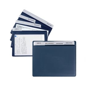 Document 19 x 15.5 cm in TAM with pull-out cards. Booklet, Insurance Policy, Fee.
