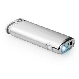 Accendino piezoelettrico con luce led Flash personalizzabile con il tuo logo