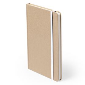 Notes/Notebook 9.5 x 14.5 cm cardboard recycled, and 100 pages Customizable with your logo