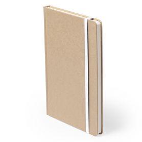 Notes/Taccuino 9,5 x 14,5 cm in cartoncino riciclato e 100 pagine  Personalizzabile con il tuo logo