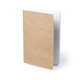Notes/Notebook 15 x 21 cm cardboard recycled, 60 pages. Customizable with your logo