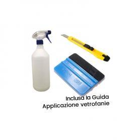 Kit strumenti per applicazione adesivi e vetrofanie