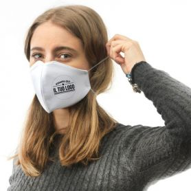 copy of Mask-protection in Cotton, washable and reusable. Made in Italy