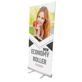 Roll Up in alluminio New Economy Roller con stampa HD