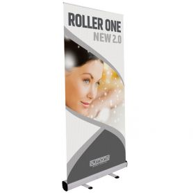 Roll Up aluminium Roller One 2.0 with print HD