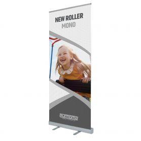 Roll Up in alluminio New Roller Mono con stampa HD