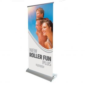 copy of Roll Up aluminum New Economy Roller with printing HD