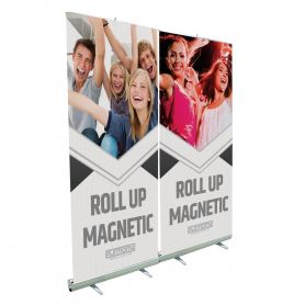 Roll Up aluminum with a magnet to hook the most graphic in the sequence. With print HD.