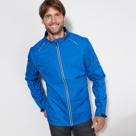 Softshell jacket 3-layer Unisex Jacket detachable sleeves James & Nicholson