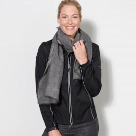 Jacket Softshell 3 layer Woman Jacket, detachable sleeves James & Nicholson