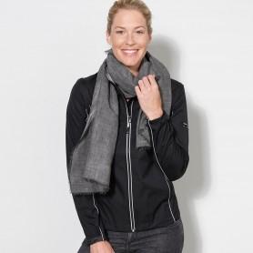 Jacket Softshell 3 layer Woman Jacket, detachable sleeves James & Nicholson
