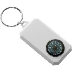 The keychain compass plastic customizable with your logo
