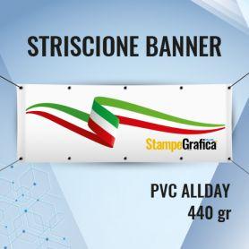 Striscione PVC Banner Allday 440 gr con stampa HD