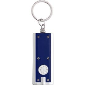 The keychain, standard with led light, personalized with your logo