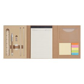 Desk Set Notes Write Eco-friendly with many accessories, customizable with your logo