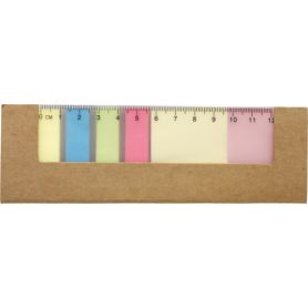 Set the memo with a stick, coloured and ruler, customized with your logo