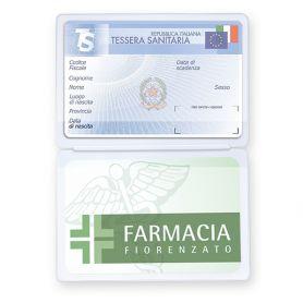 Porta Cards in PVC 2 tasche, personalizzabile con il tuo logo