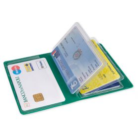 Cards in PVC with 6 pockets for customized with your logo