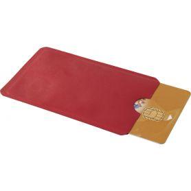 Porta Cards in alluminio monotasca, anti RFID ( anti taccheggio ) personalizzabile con il tuo logo