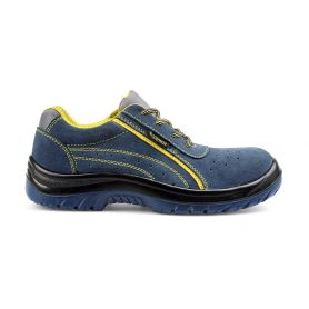 Scarpa antinfortunistica low Aurora suede Blue