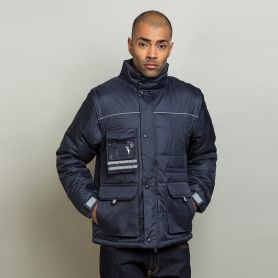 Jacket with waterproof sleeves, a removable hood, Unisex, Ale