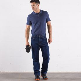 Pantaloni Jeans Work 100% Cotone, Unisex, Good Jeans