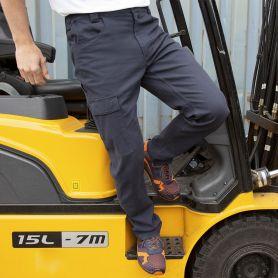 Pants Super Stretch Slim Chino 100% Cotton, Unisex, Result