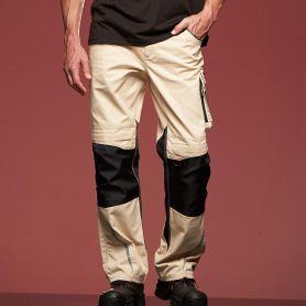 Pantalone Workwear Pants con tasche sulle ginocchia, Unisex, James & Nicholson