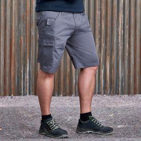 Pantaloncino dal design moderno, elasticizzati, Unisex, Russel