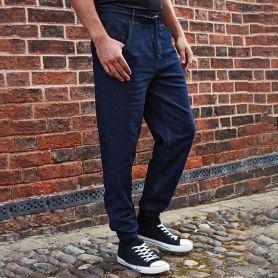 Pantalone da cuoco stile Jogging con polsini alle caviglie, Unisex, Premier