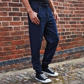 Pants chef style Joggers with cuffs at the ankles, Unisex, Premier