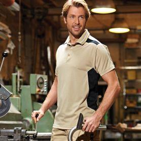 Polo Work, Craftsmen Poloshirt Poliestere, Unisex, James & Nicholson