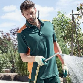 Polo Hommes Vêtements de travail, de Niveau 2, 50.50, Unisexe, James & Nicholson