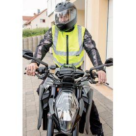 Veste de Motard à haute visibilité, norme EN ISO 20471:2013 + A1:d'ici à 2016, la norme Oeko-Tex® Standard 100
