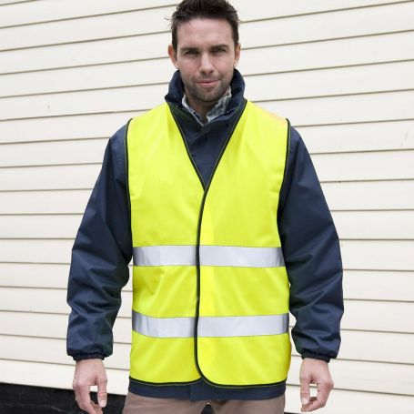Vest high visibility to EN ISO 20471:2013, class 2, conforming to directive 89/686/EEC