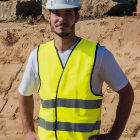 Vest high visibility to EN ISO 20471:2013 + A1:By 2016, the Oeko-Tex® Standard 100