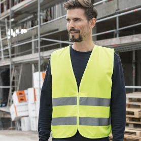 Vest high visibility Safety, EN ISO 20471:2013 + A1:By 2016, the Oeko-Tex® Standard 100