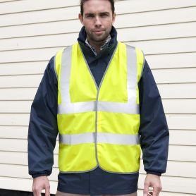 Vest high visibility to EN ISO 20471:2013 Class 2 GO/RT 3279 ISSUE 8:2013 Class 2